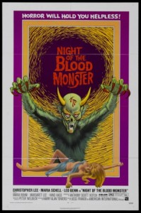 Misleading poster art for the original U.S. release.