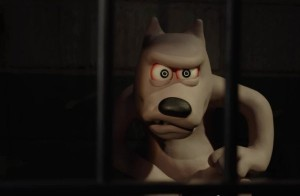 Shaun the Sheep: angry dog prisoner