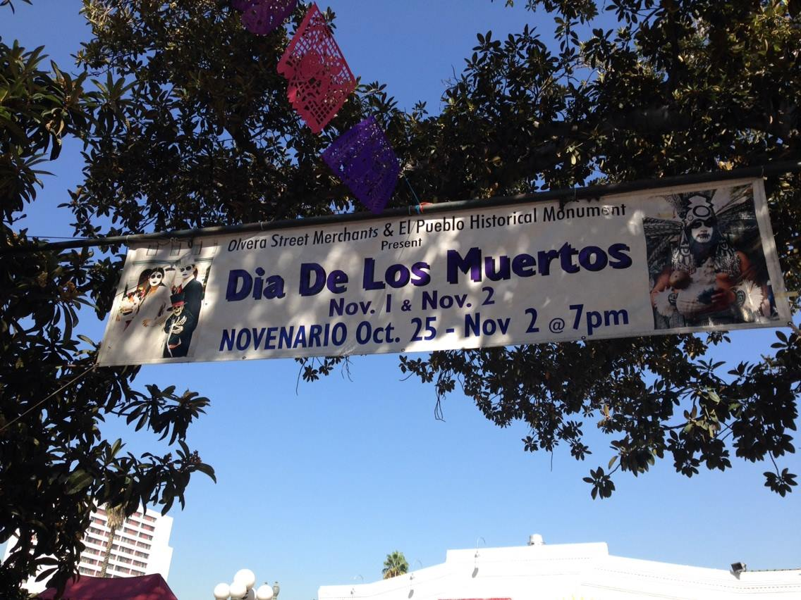 Day of the Dead Olvera Street 2017