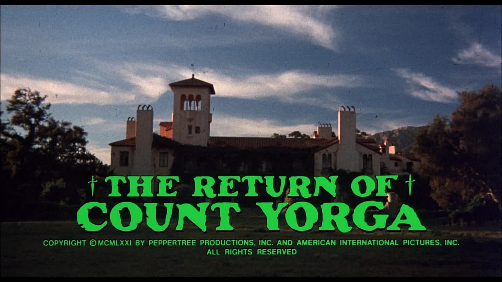 Return of Count Yorga Review