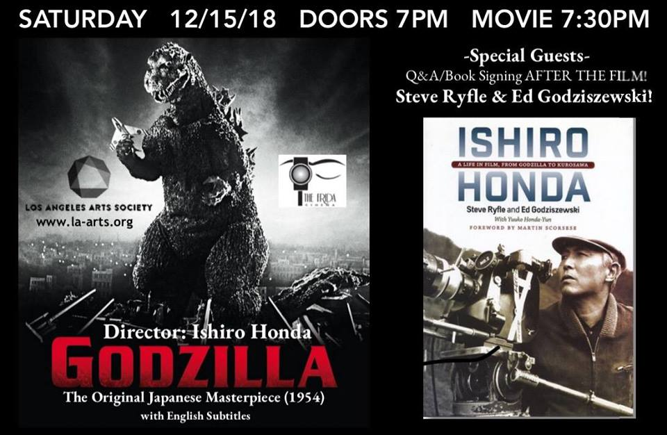 Godzilla screening book signing Ryfle