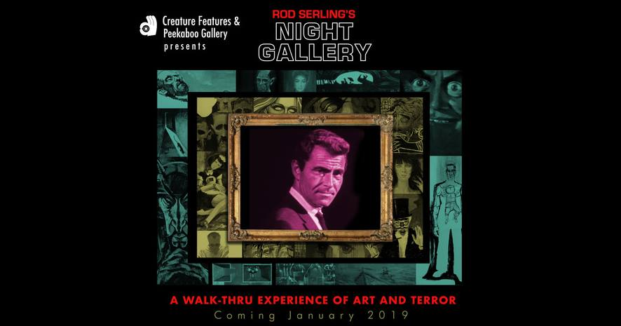 Night Gallery exhibit Creature Features