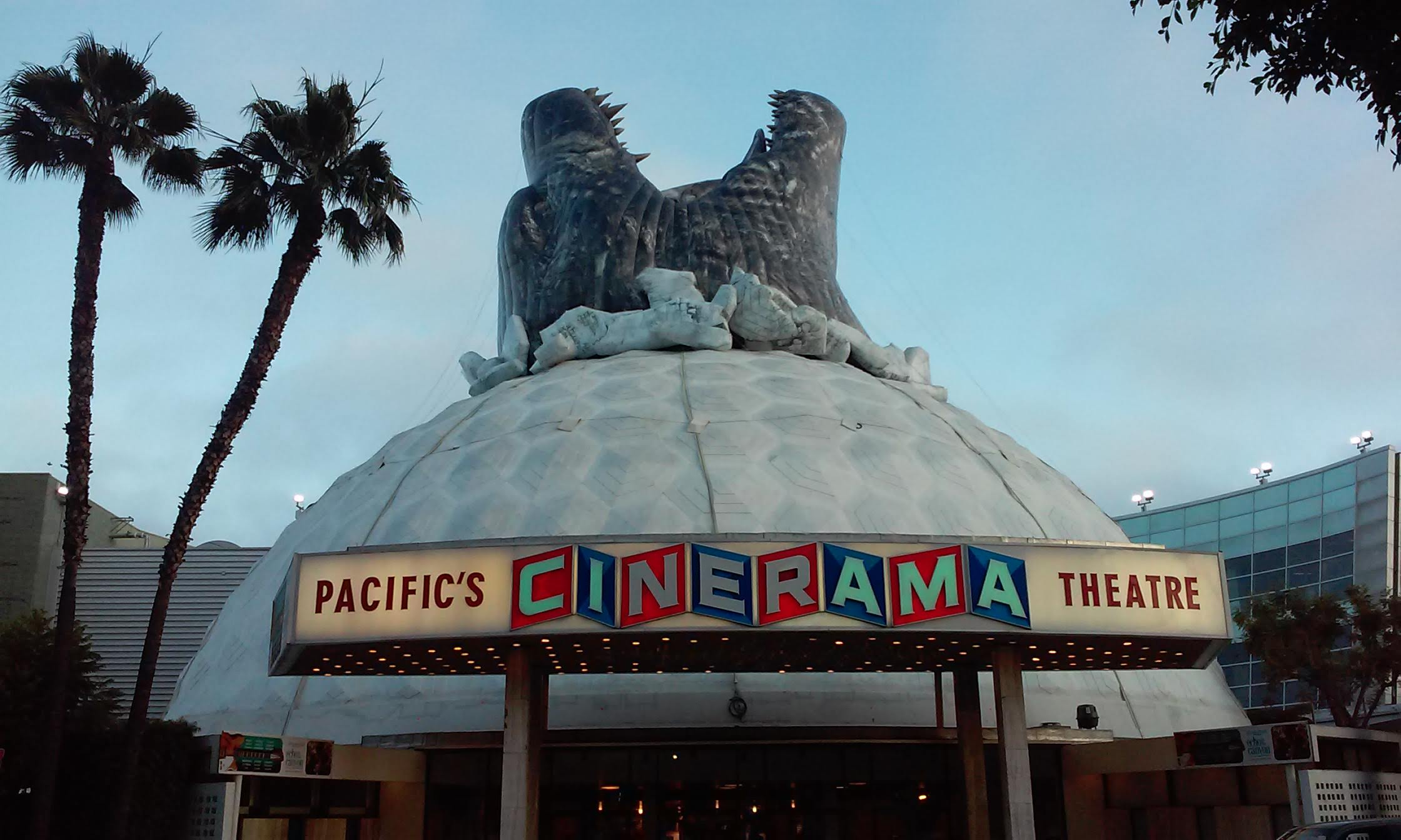 Godzilla Cinerama Dome Hollywood