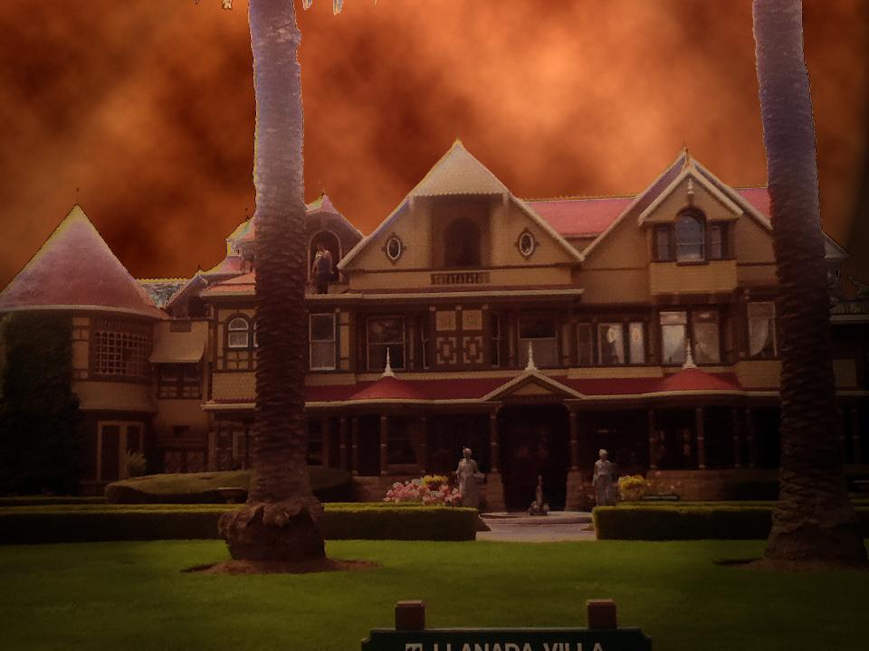 Winchester Mystery House Unhinged Copyright 2019 Steve Biodrowski