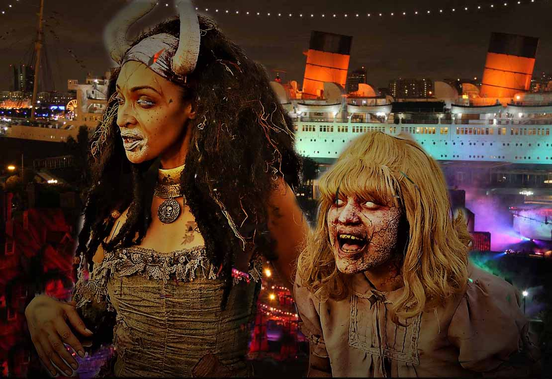 Queen Mary Dark Harbor 2019 Review