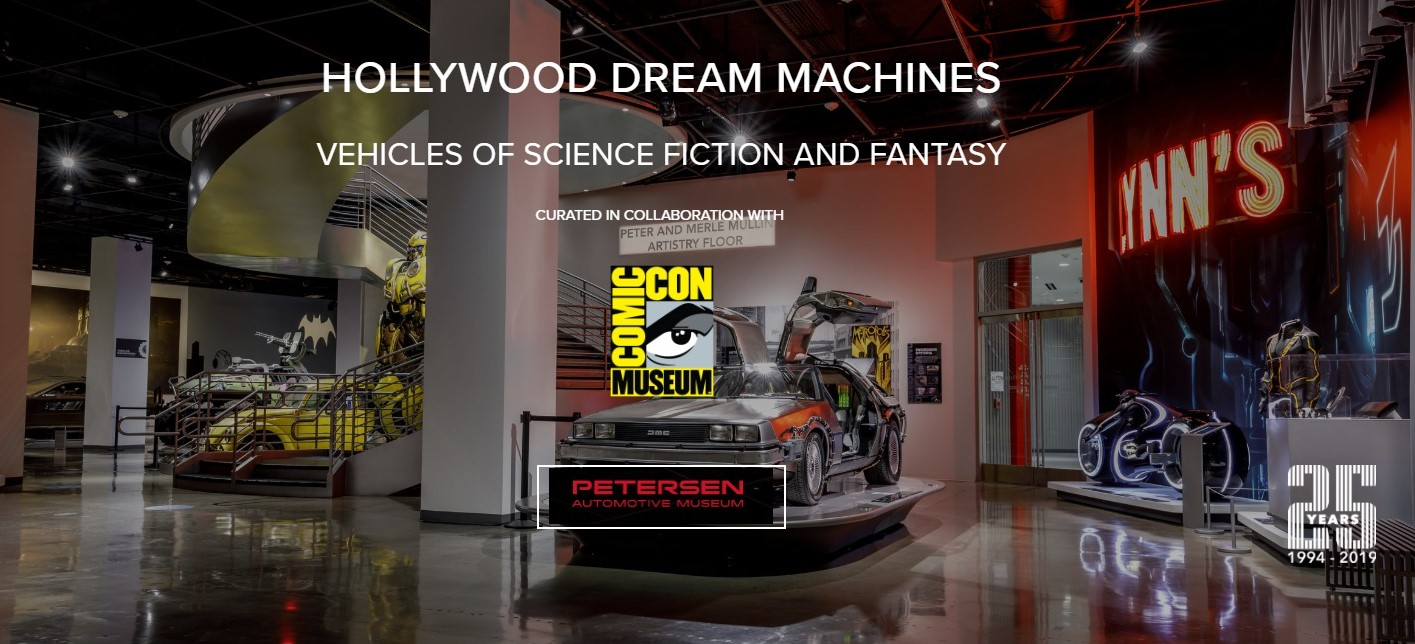 Hollywood Dream Machines Petersen Automotive Museum