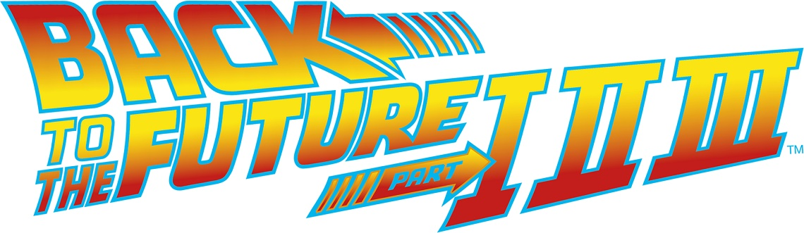 Back to the Future Trilogy Exhibit logo